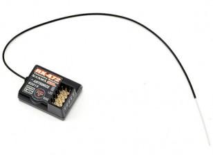 三和/ Airtronics RX-472 2.4GHz的4路FH4T超级响应接收器W /三和同步连接(SSL)