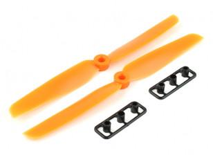 Gemfan螺旋桨6X3橙色(CW / CCW)(2个)