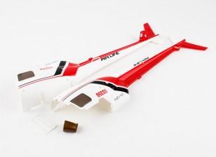 WLToys V931 AS350  - 塑料机身(后)
