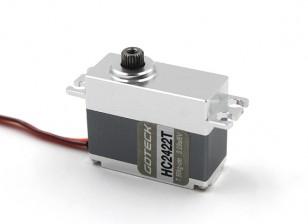 Goteck HC2422T HV数字MG金属壳租车伺服8.5千克/ 0.08sec /35克