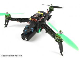 Quanum三连胜迷你折叠Tricopter帧(KIT)