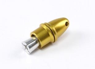螺旋桨适配器(夹头型)黄3毫米