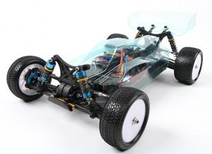 BSR赛车BZ-444 Pro的1/10四驱赛车越野车10.5T(ARR)