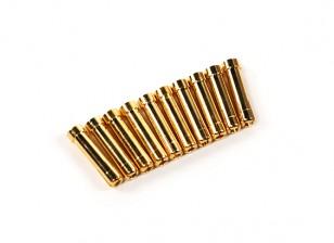 4毫米女至5mm男普力马连接适配器 - 每包10片装
