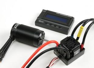 HobbyKing®™的X车野兽系列电动机和150A ESC组合1/8比例
