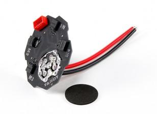 塔罗牌四轴信号/电源Intergated配电板