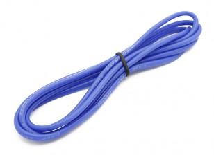 Turnigy高品质16AWG硅胶线1M线(由蓝)