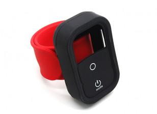 巴掌腕带安装GoPro的无线遥控案例