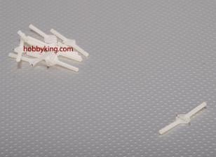 超轻枢轴与轮铰链D3xW10xL48mm(10件/套)