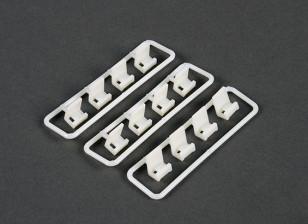 电缆扎带夹固定套装(12件)