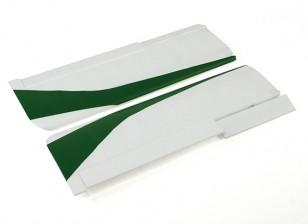 Durafly®™苔原 - 主翼套装瓦特/控制喇叭