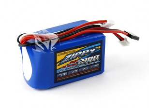 ZIPPY Flightmax对2100mAh 7.4V 2S3P接收机包