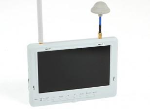 """7""""1024×600的5.8GHz 32CH FPV液晶显示器瓦特/自动搜索和DIV接收的FieldView 777 HD(美国插头)"""