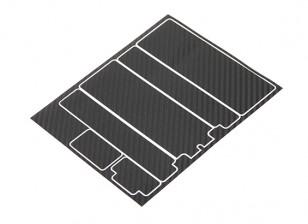 TrackStar装饰电池盖板为标准2S HARDCASE炭黑模式(1个)