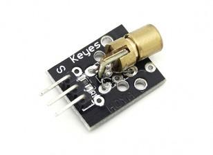 凯斯650纳米激光二极管模块的Arduino