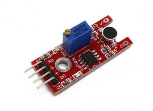 凯斯KY-038的声音听起来传感器模块的Arduino