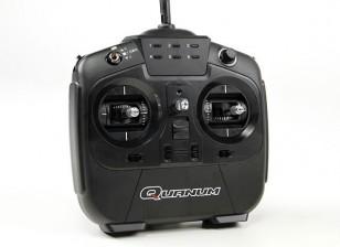 Quanum I8 8CH 2.4GHZ AFHDS 2A数字比例无线电系统模式2(黑色)