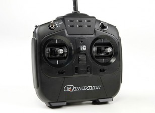 Quanum I8 8CH 2.4GHZ AFHDS 2A数字比例无线电系统模式1(黑色)
