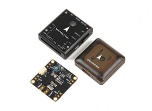 PixFalcon微PX4自动驾驶仪以及微M8N GPS和Mega PBD电源模块