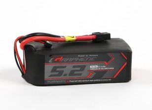 Turnigy石墨专业5200mAh 3S 15C锂聚合物包瓦特/ XT60