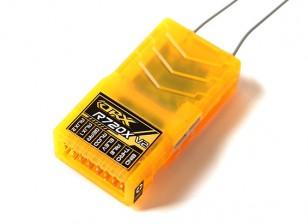 OrangeRx R720X V2 7通道2.4GHz的DSM2 / DSMX比较全范围接收瓦特/周六,分区蚂蚁,F /安全及CPPM