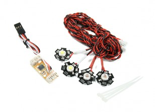 Quanum四轴飞行器导航LED灯光系统