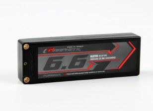 Turnigy Graphene 6600mAh 2S2P 90C Hardcase Lipo Pack (ROAR APPROVED)