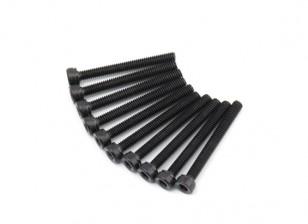 金属六角机六角螺丝M2.5x22-10个/套