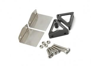 不锈钢装饰片和CNC铝合金支架组