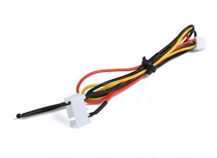 3CELL飞行包电压和为OrangeRx遥测系统温度传感器。