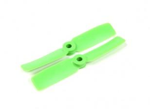 HobbyKing 3550圆头PC螺旋桨(CW / CCW)绿色(1对)