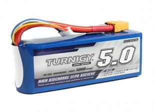 Turnigy 5000mAh的4S 40C前列包与XT90