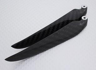 折叠式碳纤维螺旋桨11x6黑色(CCW)(1个)