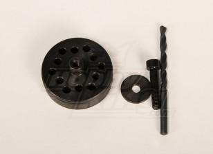 道具+背板钻头夹具的DA100与150 \ DLE111 \ 3W50-170 \ TMM53-106