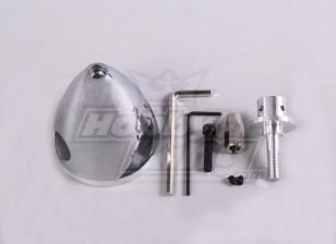 铝微调51毫米/ 2.0in  -  3刀片
