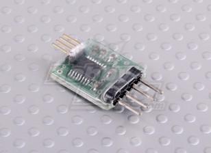 睿思凯遥测接收机升级USB /串行接口铅