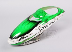 绿色Asassin喷枪玻璃天蓬(标志400)
