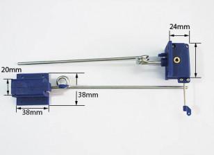 机械缩回3.5毫米点¯x140毫米长(PAIR)
