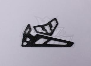 TZ-V2 .50 TT  - 碳纤维尾鳍