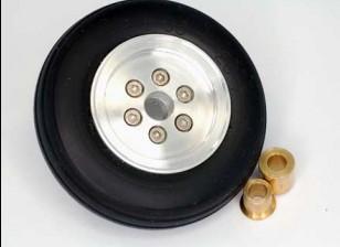 的合金轮毂喷气轮58毫米