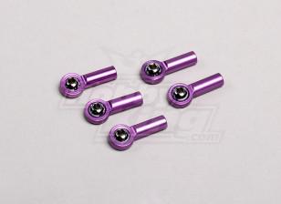 M3合金球头紫色(5片/袋)