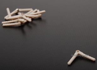 透视及圆形铰链2.5x43(10片装)