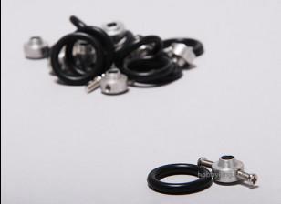 道具节电器W /乐队2毫米(10片装)