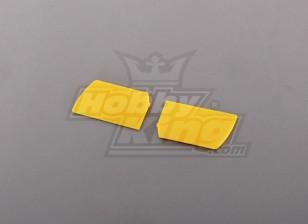 450尺寸合力桨脚蹬黄色(对)