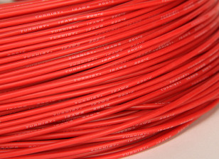Turnigy纯硅胶线18AWG 1M线(由红)
