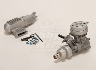 ASP 46M二冲程水冷发动机发光