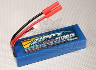 ZIPPY 5000mAh的2S1P 20C HARDCASE包