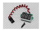 LED RX电压指示为Lipoly及寿命电池