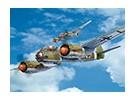 Italeri 1/72规模Ju88轰炸机A-4塑料模型套件