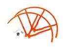 12英寸塑料通用多旋翼螺旋桨后卫 - 橙色(2套)